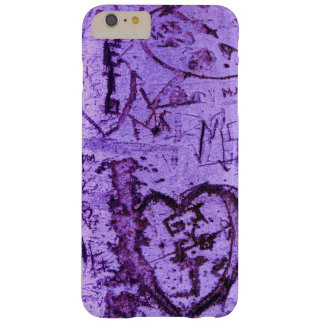 Purple Tree Carvings Barely There iPhone 6 Plus Case