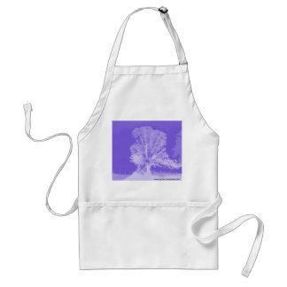 Purple Tree Silhouette Apron