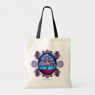 Purple Tree Tote