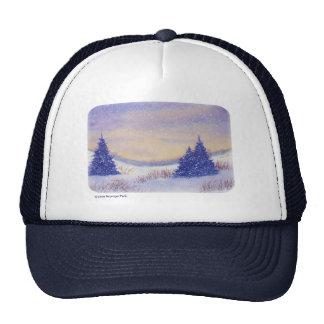 Purple Trees Art Trucker Hat