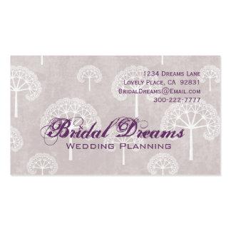 Purple Trees Customizable Business Card