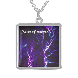 Purple Trees Force of Nature Necklace