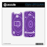 purple trendy pattern decal for UTStarcom phone