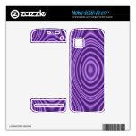 purple trendy pattern nokia 5230 nuron skins