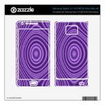 purple trendy pattern samsung galaxy s II skin