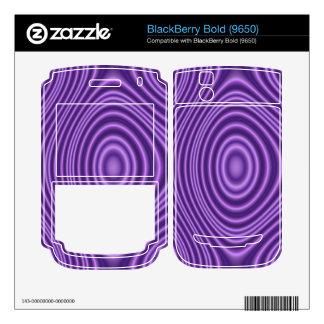 purple trendy pattern decals for BlackBerry