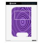 purple trendy pattern VTech V.Reader decal