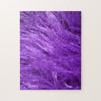 Purple Tresses Jigsaw Puzzle