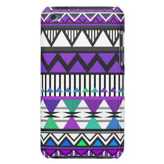 Purple Tribal 2 Pattern iPod Touch  Case Barely There iPod Cases