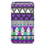 Purple Tribal 2 Pattern iPod Touch  Case iPod Touch Case
