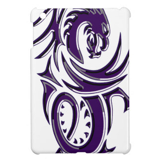 Purple Tribal Dragon iPad Mini Case