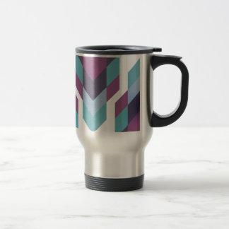 purple tribal travel mug