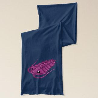 Purple Trilobite Scarf