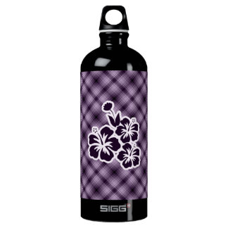 Purple Tropical Flowers SIGG Traveler 1.0L Water Bottle