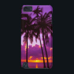 "Purple Tropical Sunset 2 iPod Touch 5G Case<br><div class=""desc"">Purple Tropical Sunset 2</div>"