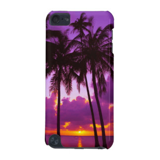 Purple Tropical Sunset 2 iPod Touch 5G Case