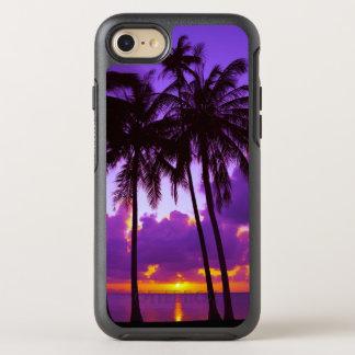 Purple Tropical Sunset 3 OtterBox Symmetry iPhone 7 Case