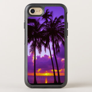 Purple Tropical Sunset 3 OtterBox Symmetry iPhone 8/7 Case