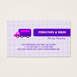 Purple Truck Business Card