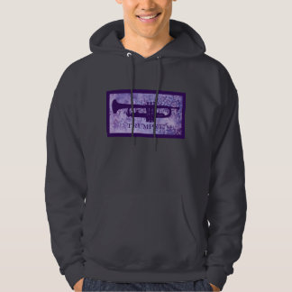 Purple Trumpet! Hooded Pullover