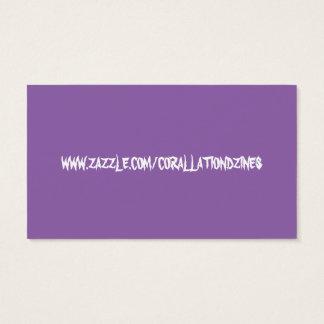 Purple  truth biz card