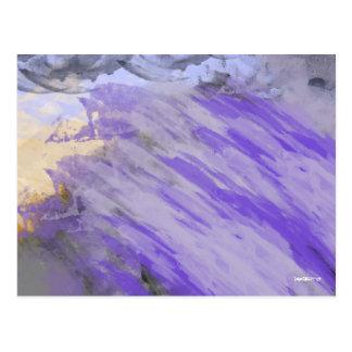 Purple Tsunami Postcard