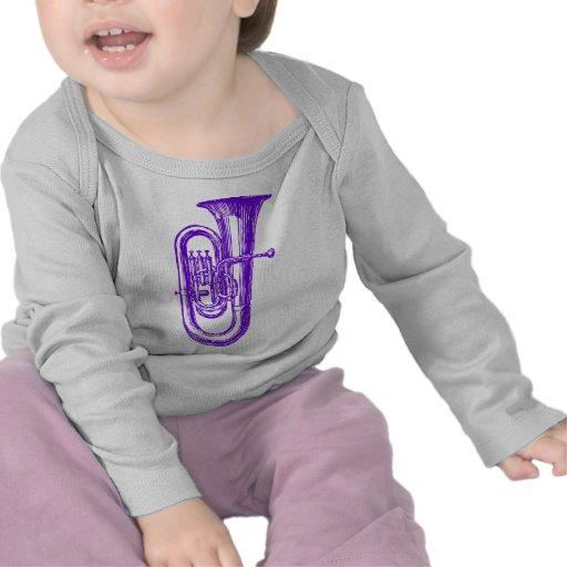 Purple Tuba T-shirts
