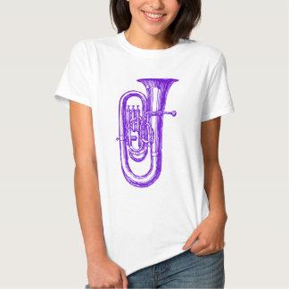 Purple Tuba Tee Shirt