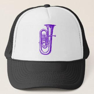 Purple Tuba Trucker Hat