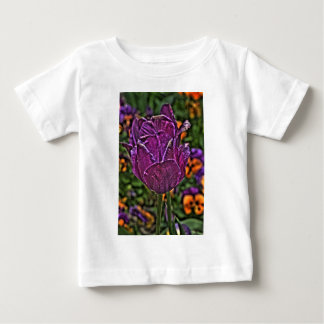 purple tulip 2 baby T-Shirt