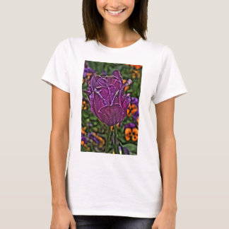 purple tulip 2 T-Shirt