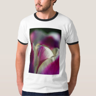 purple tulip abstract T-Shirt