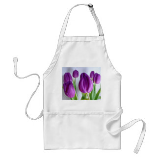 Purple Tulip Adult Apron