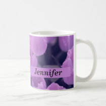 Purple Tulip Back to School & Dorm Essentials Coffee Mug