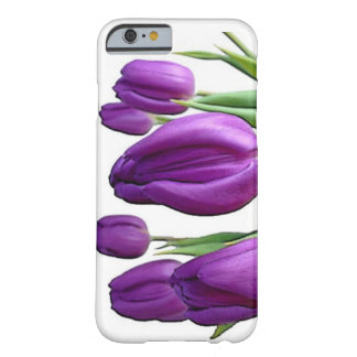 Purple tulip barely there iPhone 6 case