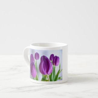 Purple Tulip Espresso Cup