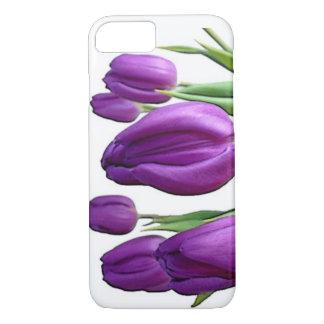 Purple tulip iPhone 8/7 case