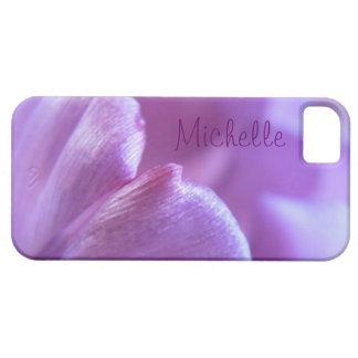 Purple Tulip Petal iPhone Case