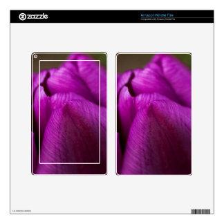 Purple Tulip Kindle Fire Skin