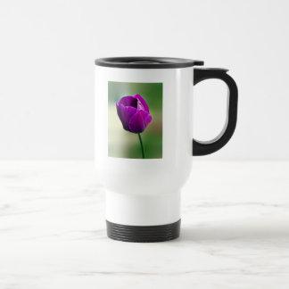 Purple Tulip Travel Mug