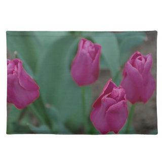 Purple Tulips American MoJo Placemat