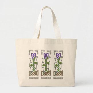 Purple Tulips bag