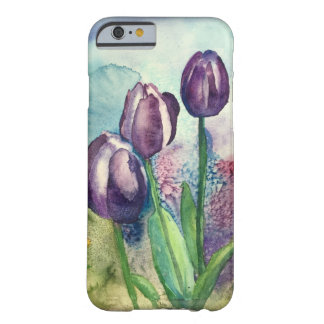 Purple Tulips Barely There iPhone 6 Case
