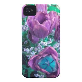 Purple Tulips Blackerry Bold Case