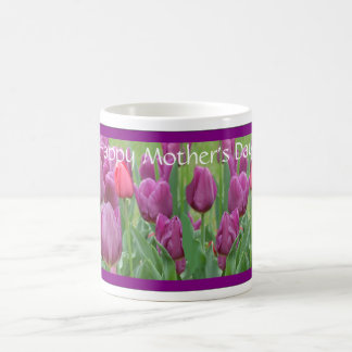 Purple Tulips Flower Art Mother's Day Gift Mug