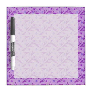 Purple Tulips For Awareness Dry-Erase Board