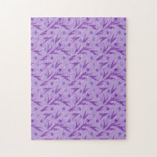 Purple Tulips For Awareness Jigsaw Puzzles
