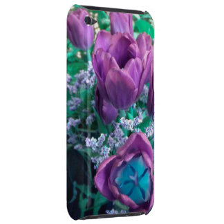 Purple Tulips iPod touch case
