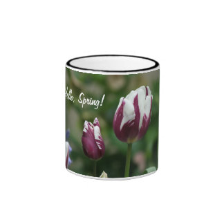 Purple Tulips Mug