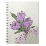 Purple Tulips Notebook